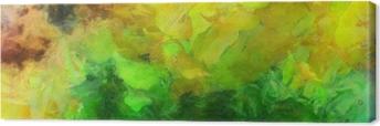 Tableau sur toile Peinture abstraite colorée