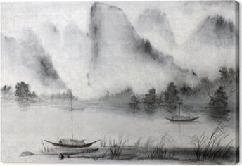 Tableau sur toile Peinture chinoise
