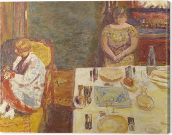 Tableau sur toile Pierre Bonnard - Avant le dîner - Reproductions