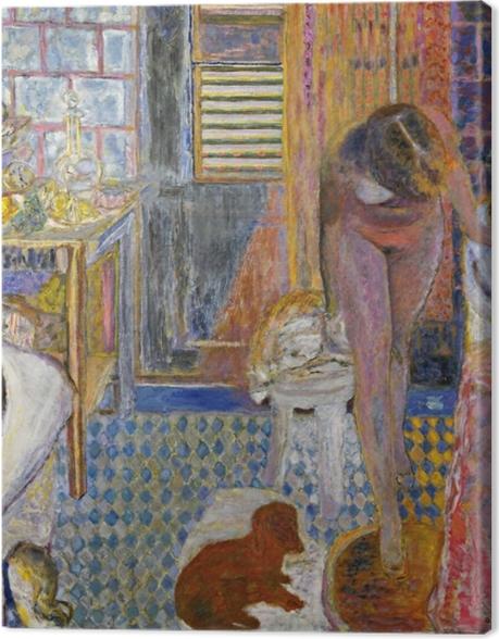 Tableau sur toile Pierre Bonnard - La salle de bain - Reproductions