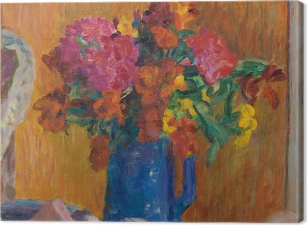 Tableau sur toile Pierre Bonnard - Le pot bleu - Reproductions