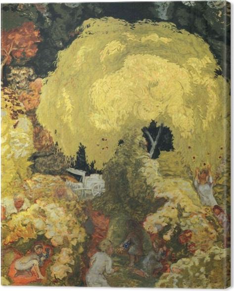 Tableau sur toile Pierre Bonnard - Les cueilleurs de fruits - Reproductions