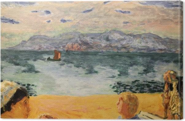 Tableau sur toile Pierre Bonnard - Paris. L'Esterel - Reproductions