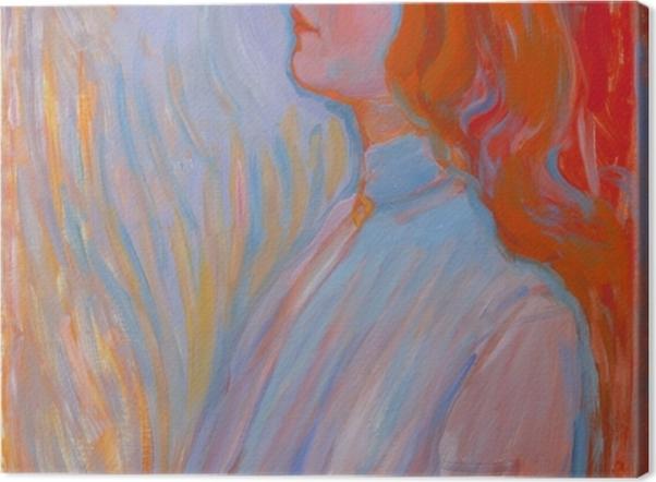 Tableau sur toile Piet Mondrian - Dévotion - Reproductions