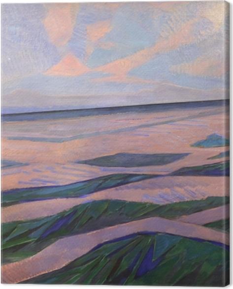 Tableau sur toile Piet Mondrian - Dune - Reproductions