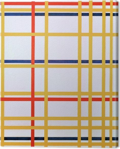 Tableau sur toile Piet Mondrian - New York City I - Reproductions