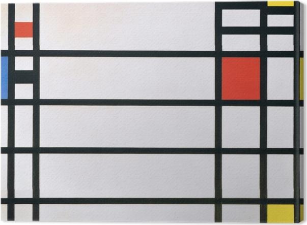 Tableau sur toile Piet Mondrian - Trafalgar Square - Reproductions