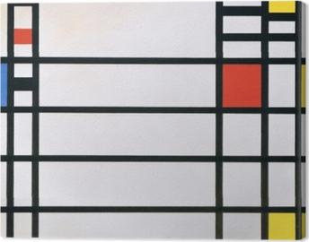 Tableau sur toile Piet Mondrian - Trafalgar Square