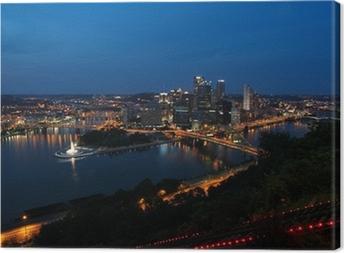 Tableau sur toile Pittsburgh, Pennsylvanie, États-Unis
