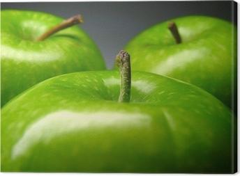 Tableau sur toile Pomme verte
