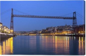 Tableau sur toile Pont suspendu entre Portugalete et Getxo. Vizcaya, Co Basque