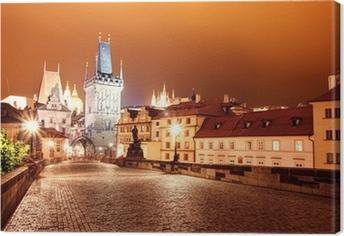 Tableau sur toile Prague, la plupart des Karol