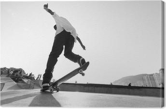 Tableau sur toile Radical Skate - planche à roulettes