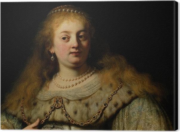 Tableau sur toile Rembrandt - Artemisia - Reproductions