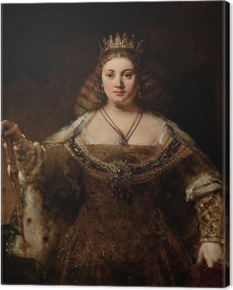 Tableau sur toile Rembrandt - Juno - Reproductions