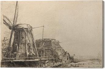 Tableau sur toile Rembrandt - Le Moulin