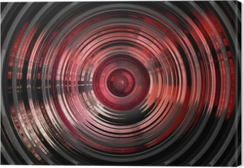 Tableau sur toile Résumé de fond 3D hypnotique