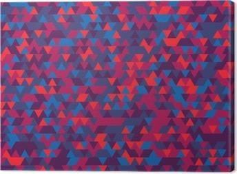 Tableau sur toile Résumé de fond des triangles. La gradation de Violet. teintes violettes.
