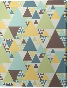 Tableau sur toile Résumé motif géométrique # 2