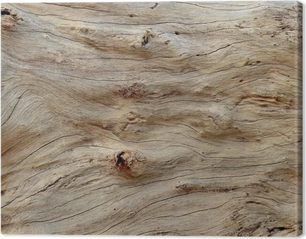 Tableau sur toile Résumé texture de fond de bois flotté lisse ...