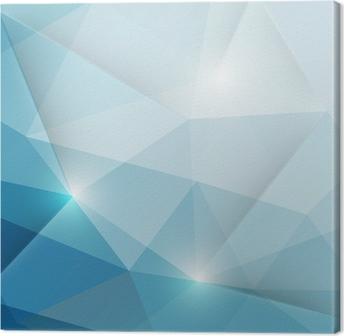 Tableau sur toile Résumé triangles géométriques fond