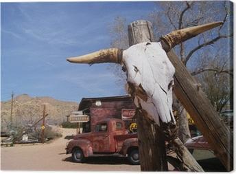 Tableau sur toile Route 66