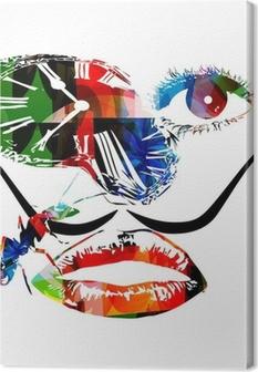 Tableau sur toile Salvador Dali vecteur d'œuvres d'art inspirées