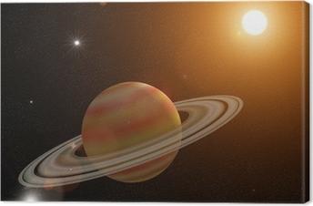 Tableau sur toile Saturn