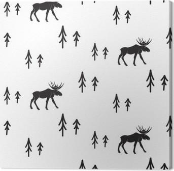 tableaux sur toile neige pixers nous vivons pour changer. Black Bedroom Furniture Sets. Home Design Ideas