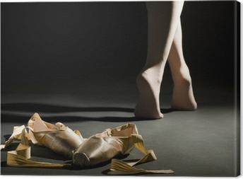 Tableau sur toile Schoes ballet