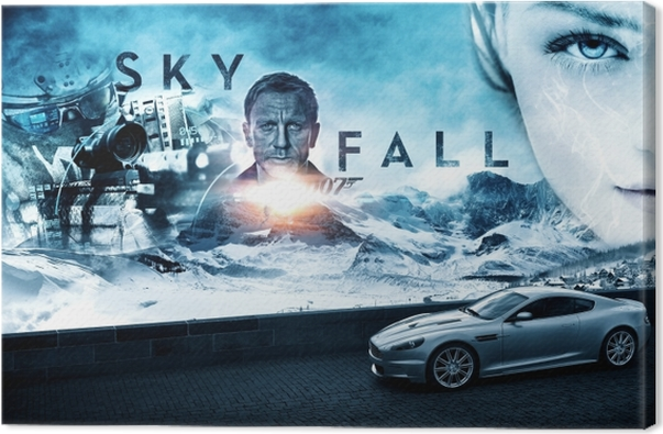 Tableau sur toile Skyfall - Thèmes