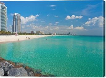 Tableau sur toile South Beach Miami - Floride