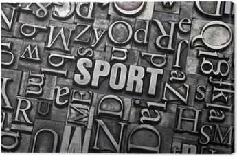 Tableau sur toile Sport