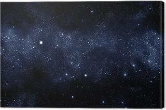 Tableau sur toile Starfield voie lactée