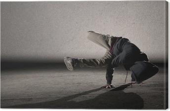 Tableau sur toile Style de breakdance cool