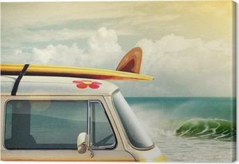 Tableau sur toile Surf Way of Life