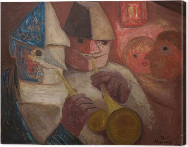 Tableau sur toile Tadeusz Makowski - Balle - Reproductions
