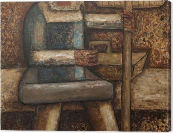 Tableau sur toile Tadeusz Makowski - Pêcheur - Reproductions