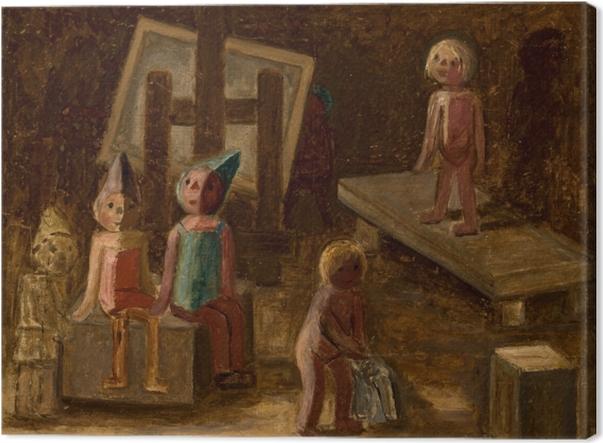 Tableau sur toile Tadeusz Makowski - Petit modèle - Reproductions