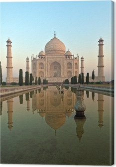 Tableau sur toile Taj Mahal en Inde