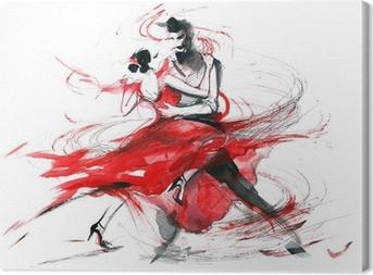 Tableau sur toile Tango