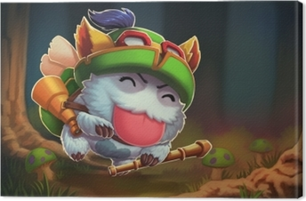 Tableau sur toile Teemo - League of Legends