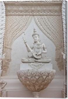 Tableau sur toile Thai statue ange