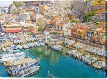 Tableau sur toile The Vallon des Auffes, Marseilles, France