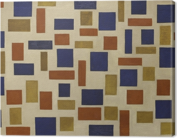 Tableau sur toile Theo van Doesburg - Composition XI - Reproductions