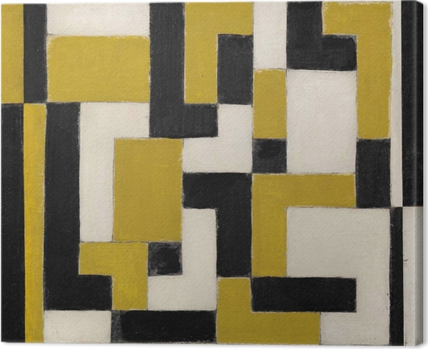 Tableau sur toile Theo van Doesburg - Composition - Reproductions