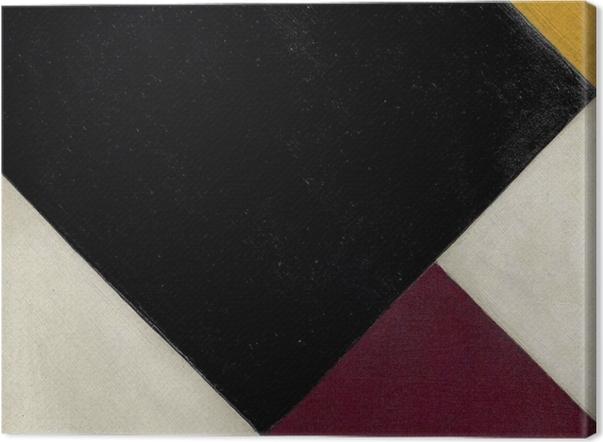 Tableau sur toile Theo van Doesburg - Contre-composition XI - Reproductions