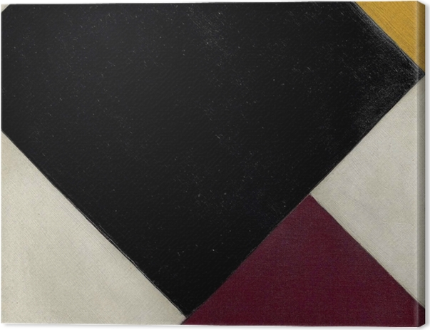Tableau sur toile Theo van Doesburg - Contre-composition XI - Reproductions