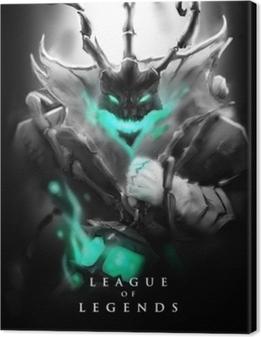 Tableau sur toile Thresh - League of Legends