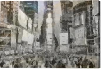 Tableau sur toile Times Square New York